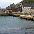 Ballintoy Quayside by John Hughes