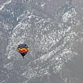Ballon Verses Mountain by David Arment