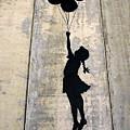 Ballons Girl by Munir Alawi