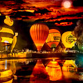 Balloon Festival by Larry White