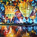Balloon Festival by Leonid Afremov
