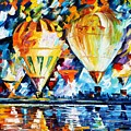 Balloon Festival New by Leonid Afremov