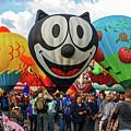 Balloon Fiesta Albuquerque II by Lon Dittrick