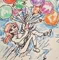 Balloon Flight  by Geraldine Myszenski