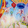 The Self Driving Space Balloons                   Chloe The Flying Lamb Productions  by Sigrid Tune