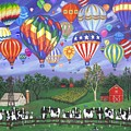 Balloon Race Two by Linda Mears
