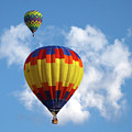 Balloons In The Cloud by Marie Leslie
