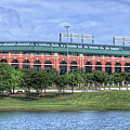 Ballpark In Arlington Now Globe Life Park by Robert Bellomy