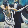 Ballroom Dancers by Ellen Lewis