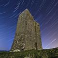 Ballybrit Castle Star Trails by Richard Peyton