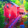 Balmoral Grist Mill Museum by Ginger Wakem