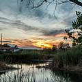 Balmorhea Sunset by Chelsea Burnett