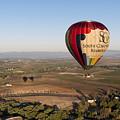 Baloon Riding  Over Temecula Ca by Jaime Pomares