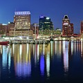 Baltimore Blue Hour by Frozen in Time Fine Art Photography