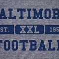 Baltimore Colts Retro Shirt by Joe Hamilton