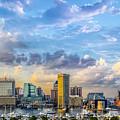 Baltimore Harbor Skyline by Susan Candelario