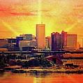 Baltimore Horizon by Ced Dembeckl