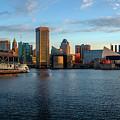 Baltimore Inner Harbor Sunrise by Jim Archer