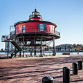 Baltimore Lighthouse Portrait by Framing Places