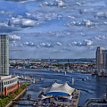 Baltimore Maryland Inner Harbor by Movie Poster Prints