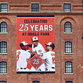 Baltimore Orioles Celebrate 25 Years At Oriole Park by James Brunker