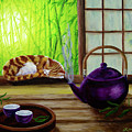 Bamboo Morning Tea by Laura Iverson