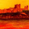 Bamburgh Castle by Michael Vigliotti