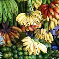 Banana display. by Jane Rix