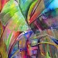 Banana Leaves IIi by Maritza Bermudez