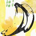 Bananas- Art By Linda Woods by Linda Woods