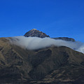 Band Of Cloud On Mount Cotacachi by Robert Hamm