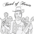 Band Of Horses by Priscilla Wolfe