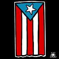 Bandera De Puerto Rico by Ines Rivera