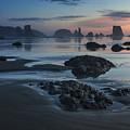 Bandon Beach Sunset by Mark Kiver