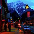Banff At Twilight by Paul Kloschinsky