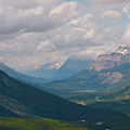 Banff National Park - View Through The Valley by Andre Distel