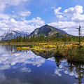 Banff Reflection by Chad Dutson