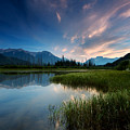 Banff Sunset by Cale Best