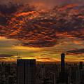 Bangkok Sunrise by Edward Nowak
