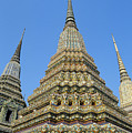 Bangkok, Wat Po by Gloria & Richard Maschmeyer - Printscapes