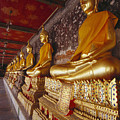 Bangkok, Wat Suthat by Bill Brennan - Printscapes