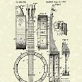 Banjo 1882 Patent Art by Prior Art Design