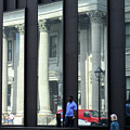 Bank Of Montreal Reflection by Randall Weidner