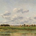 Banks Of The Loing by Charles-Francois Daubigny