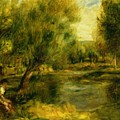 Banks Of The River by Renoir PierreAuguste