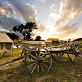 Bannack Montana Ghost Town by Bob Christopher