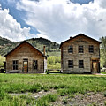 Bannack Mt. 1 by Susan Kinney