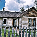 Bannack Mt. 9 by Susan Kinney