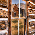 Bannack Reflection In The Past by Adam Jewell