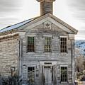 Bannack Schoolhouse And Masonic Temple by Teresa Wilson